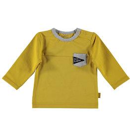 B.E.S.S. Shirt l.sl. Pocket, Ocre
