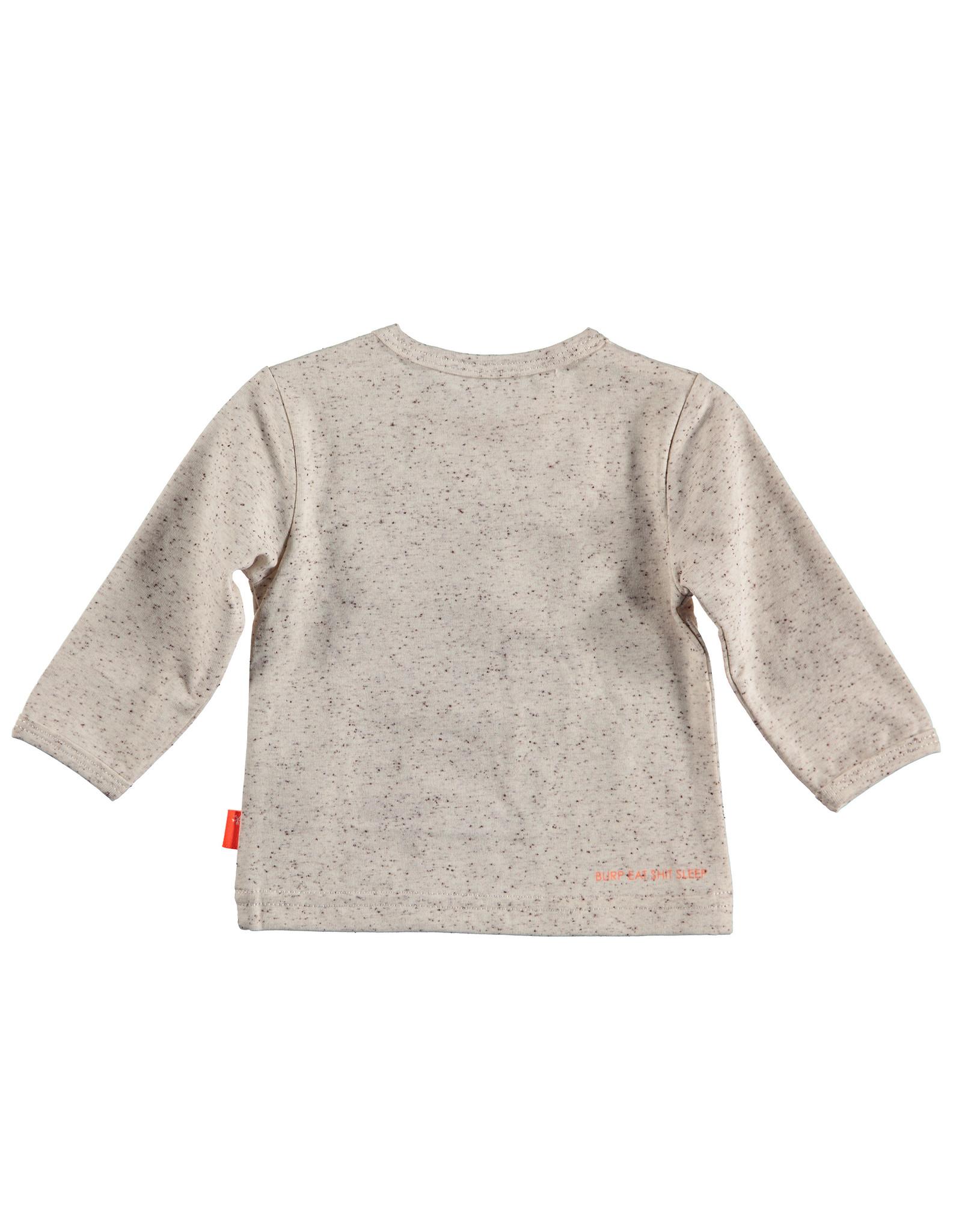 B.E.S.S. Shirt l.sl. Penguin, Sand