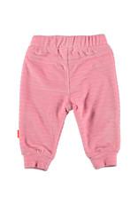 B.E.S.S. Pants Velvet Striped, Pink