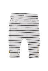 B.E.S.S. Pants Stripe, White