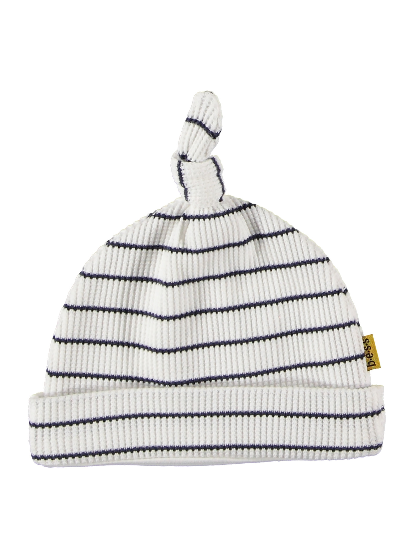 B.E.S.S. Hat Stripe, White