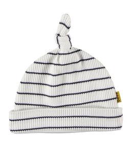 B.E.S.S. Hat Stripe, White