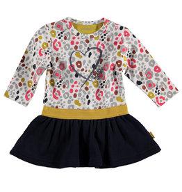 B.E.S.S. Dress AOP Heart, Dessin