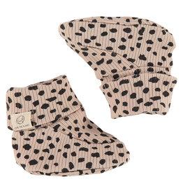Babyface baby slippers, seashell