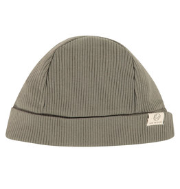 Babyface baby hat, olive green