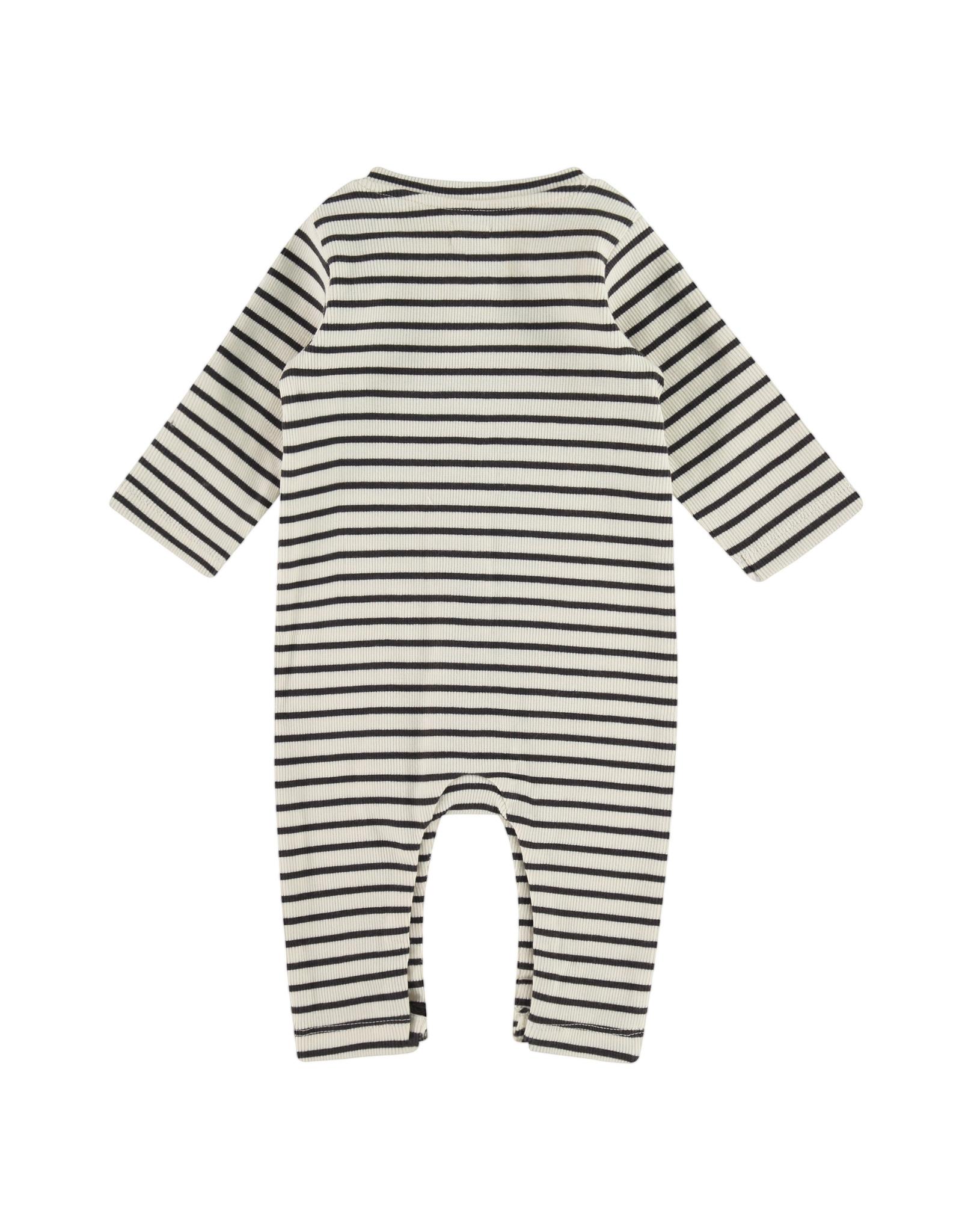 Babyface baby suit, ebony