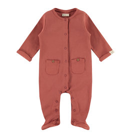 Babyface baby suit, indian red