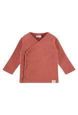Babyface baby t-shirt longsleeve, indian red