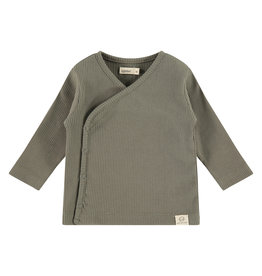 Babyface baby t-shirt long sleeve, olive green