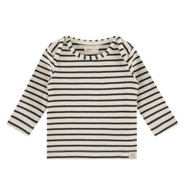 Babyface baby t-shirt long sleeve, ebony