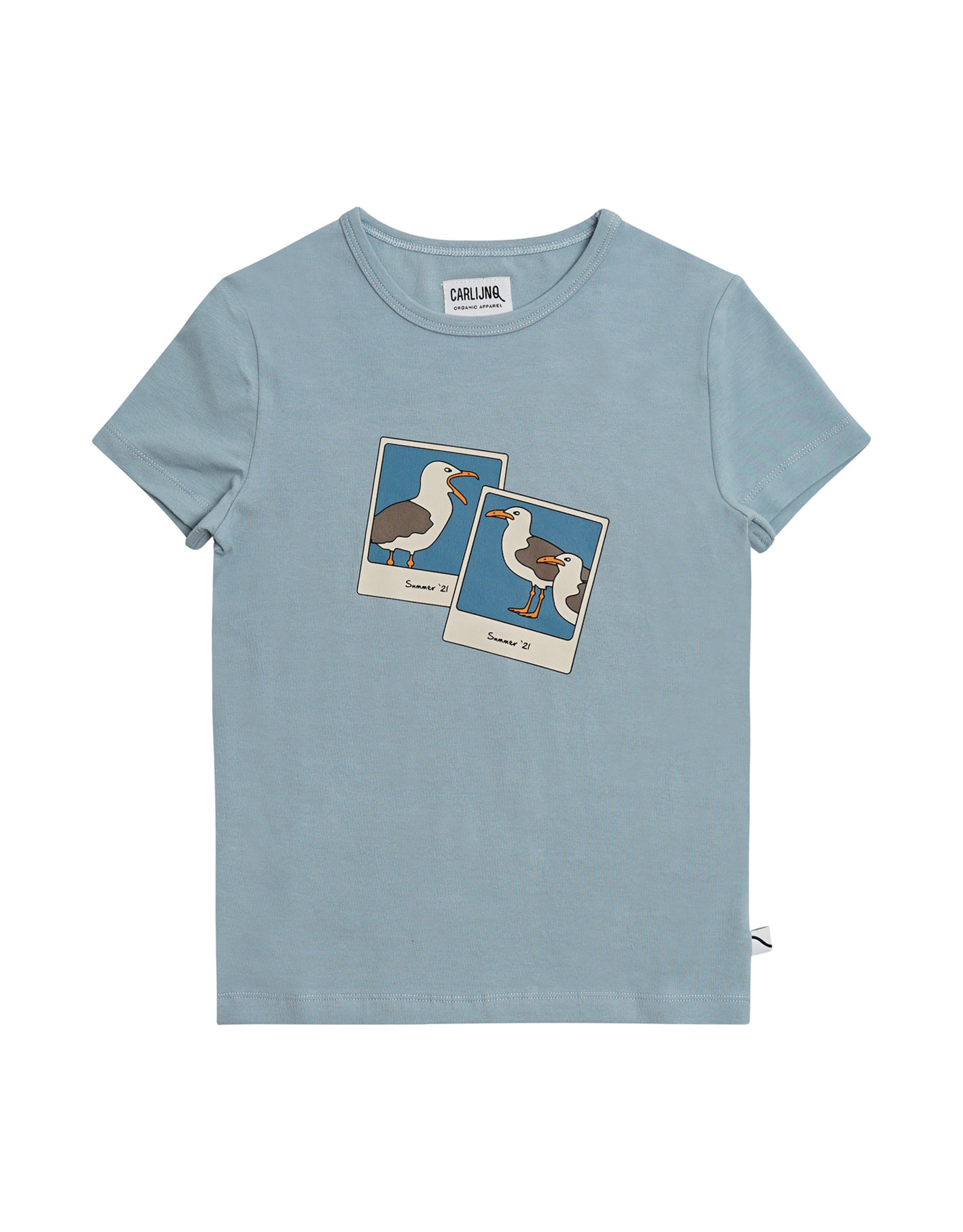 CarlijnQ Photo Camera - t-shirt with print blue