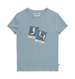 CarlijnQ Photo Camera - t-shirt with print blue