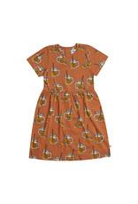 CarlijnQ Lemonade - dress short sleeve