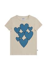 CarlijnQ Hearts - t-shirt with print