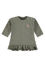 Babyface baby girls dress, moss