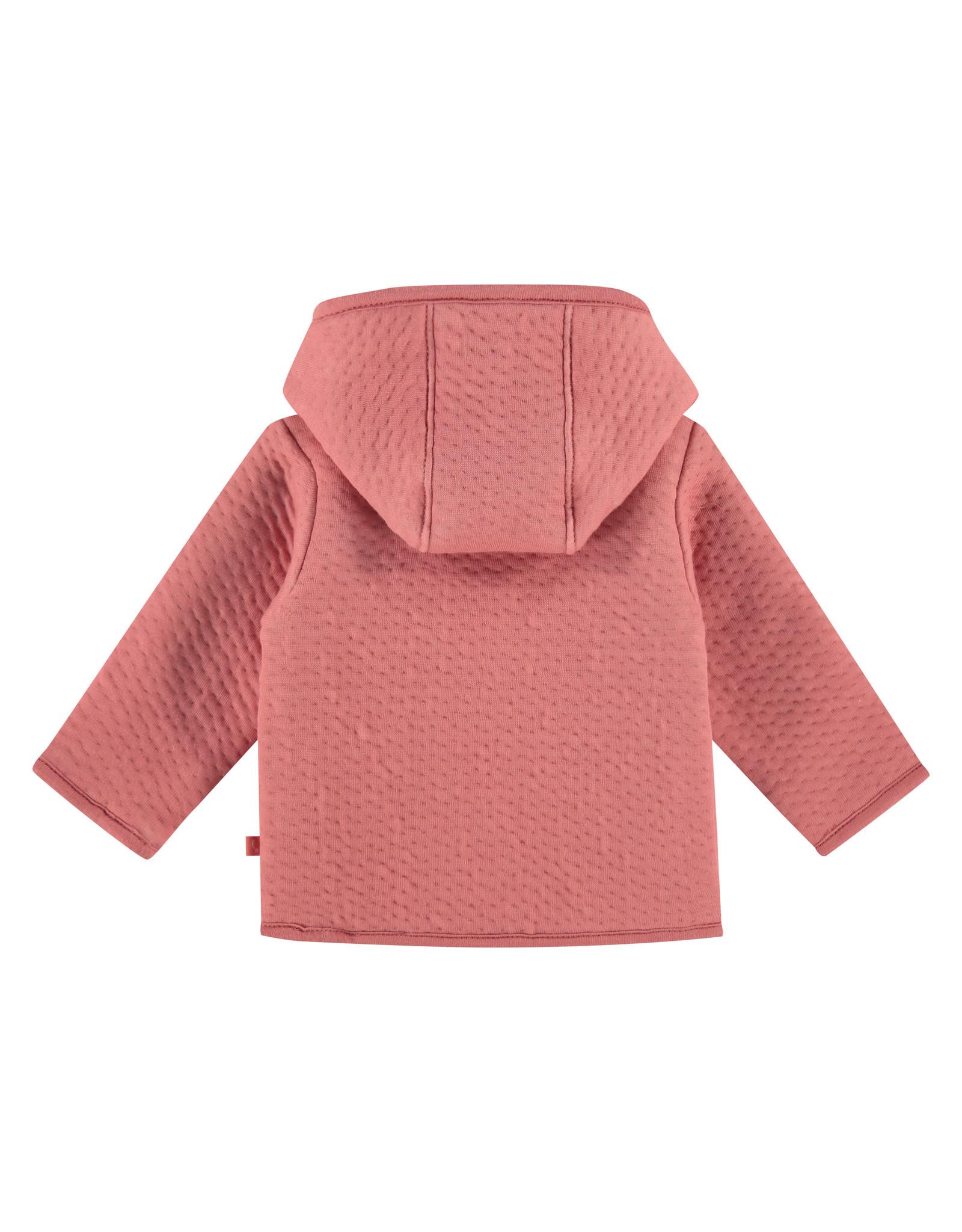 Babyface baby girls jacket, rusty pink