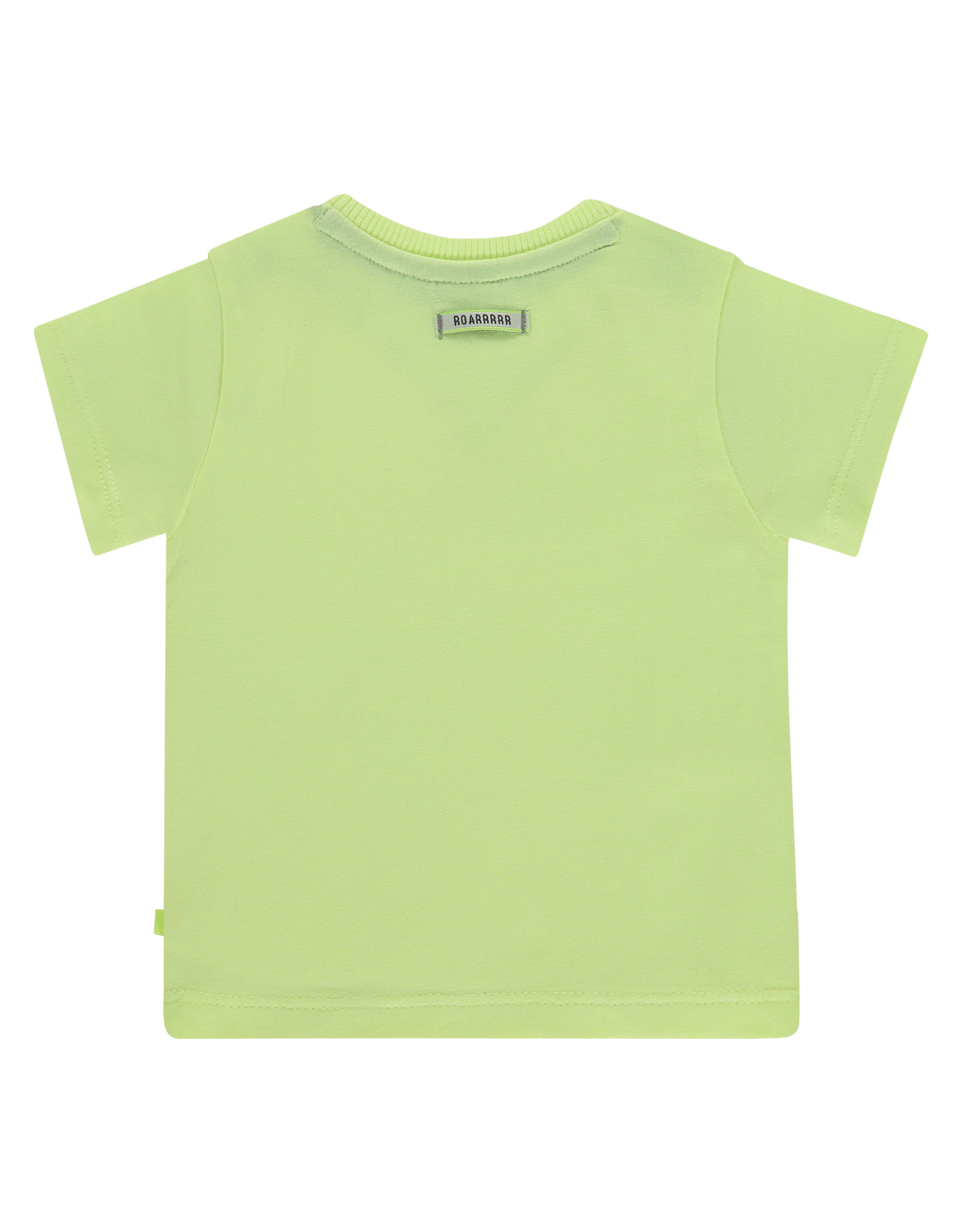 Babyface baby boys t-shirt short sleeve, neon yellow