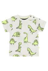Babyface baby boys t-shirt short sleeve, off white
