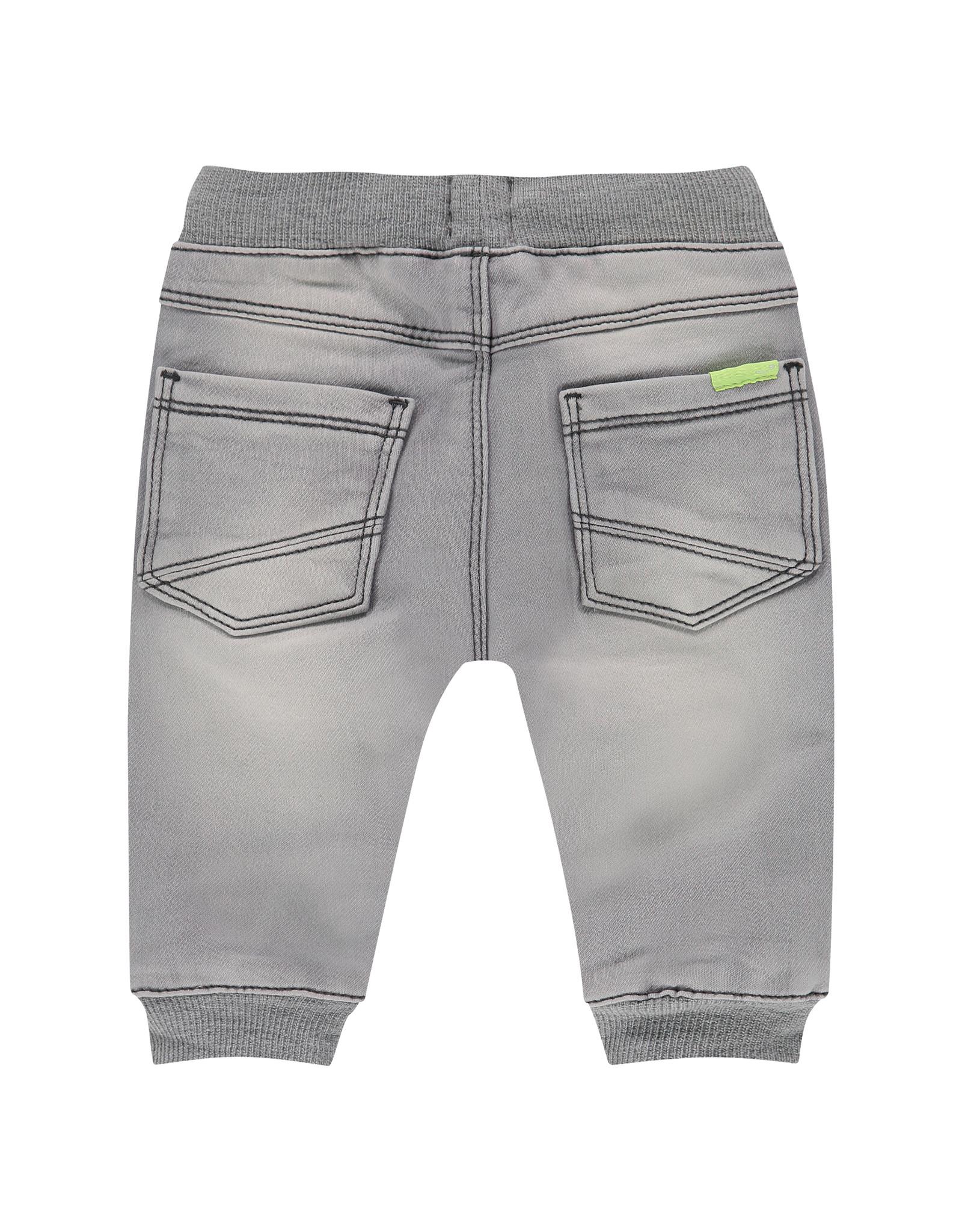 Babyface baby boys jogg jeans, mid grey denim