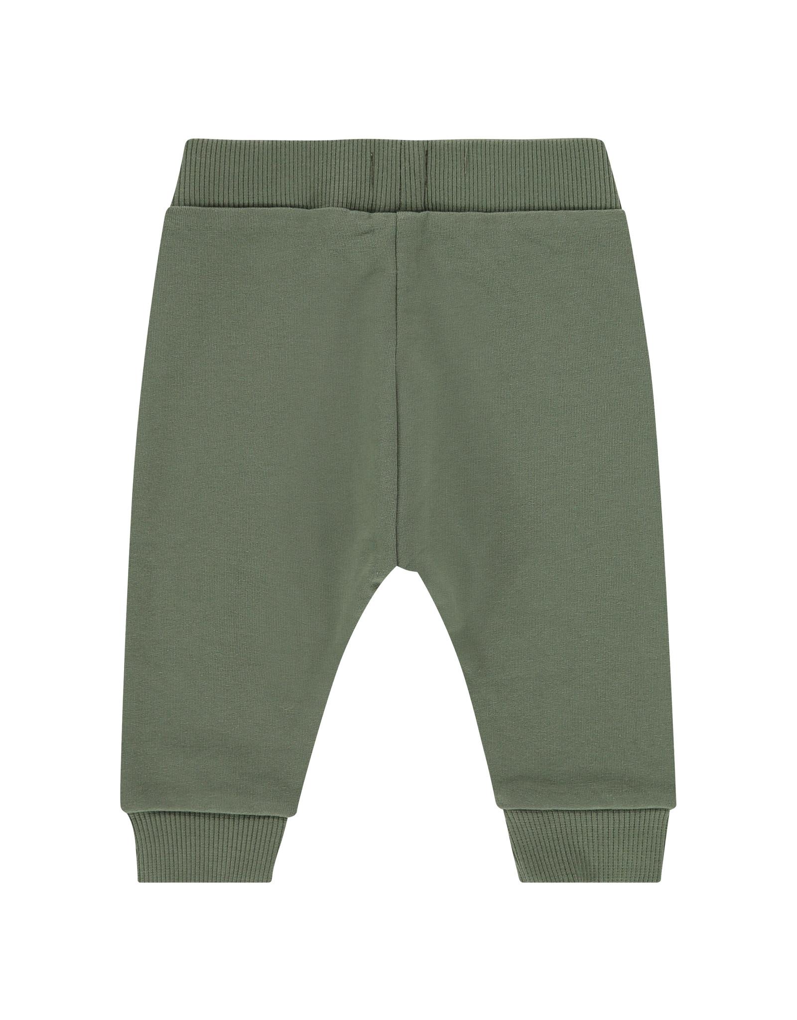 Babyface baby boys sweatpants, army