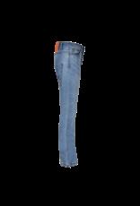 Dutch dream denim GEUZA, Power stretch flare jeans blue