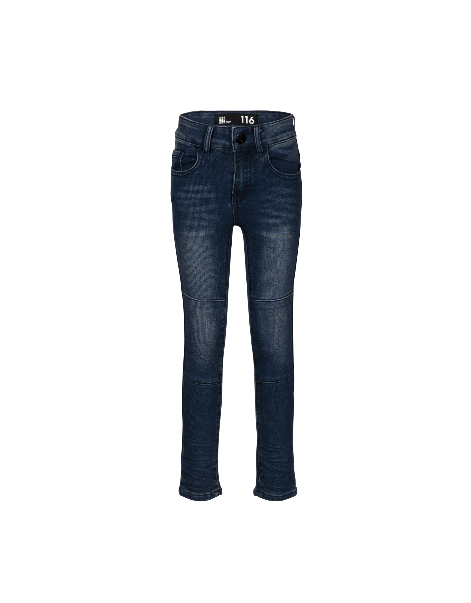 Dutch dream denim MOYO, EXTRA SLIM FIT Jogg jeans met dubbele laag stof op de knieën