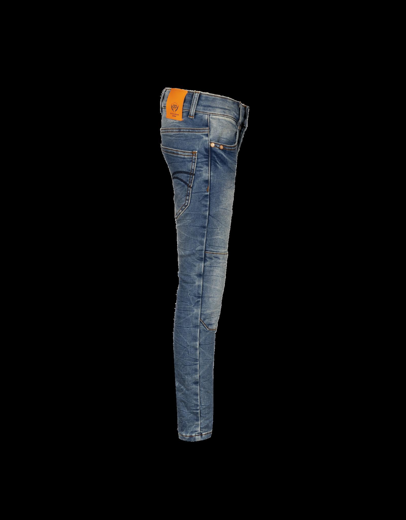 Dutch dream denim JUHUDI, SLIM FIT jogg jeans  met dubbele laag stof op de knieën