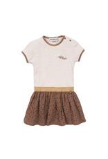 Koko Noko Dress ss, Camel + beige melange, SS21