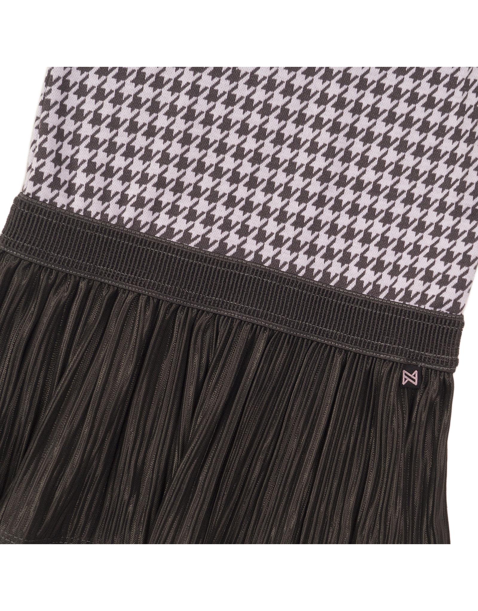 Koko Noko Dress ss, Dark grey + off white, SS21