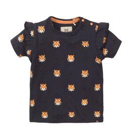 Koko Noko T-shirt ss, Navy + aop, SS21