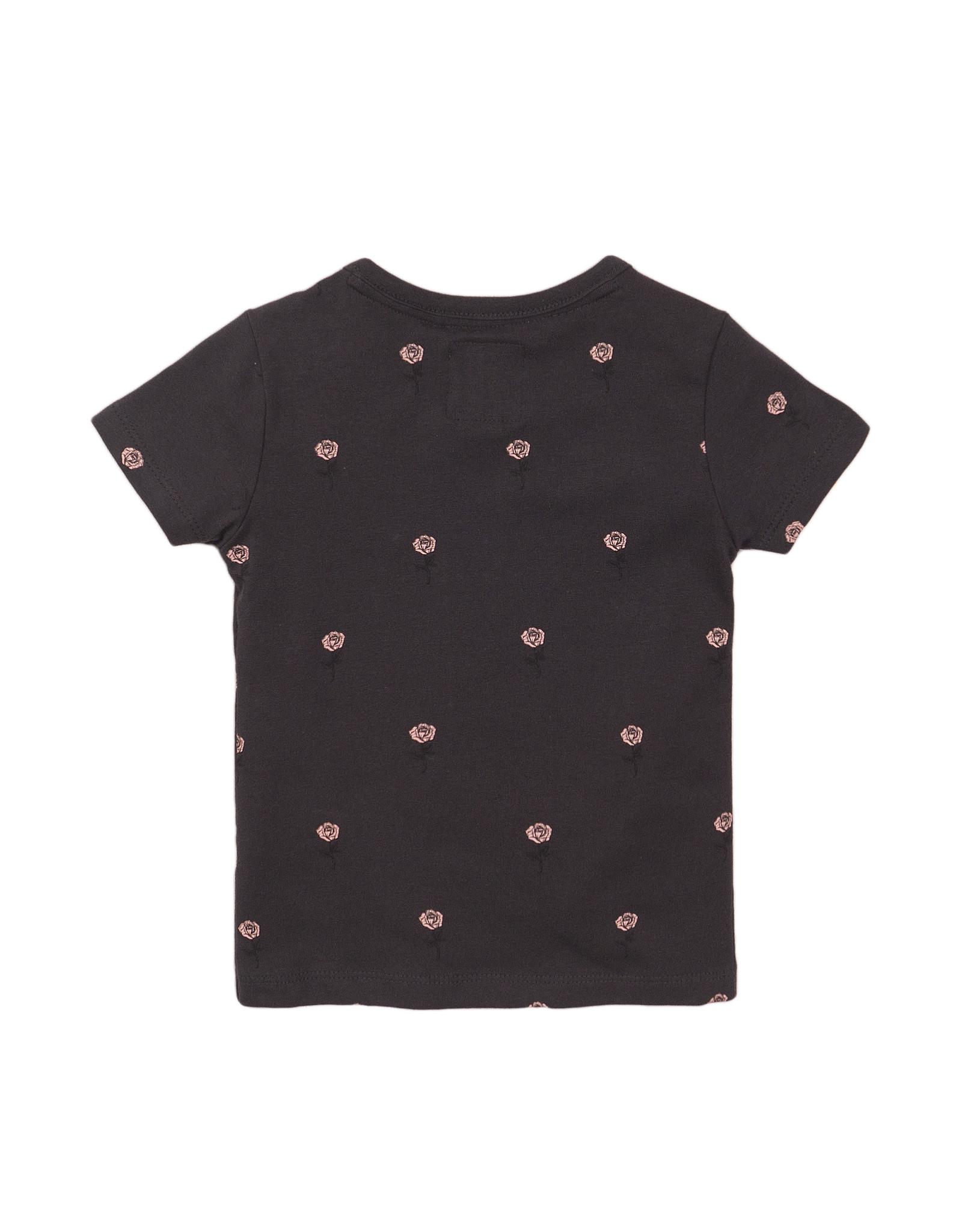 Koko Noko T-shirt ss, Dark grey + aop, SS21