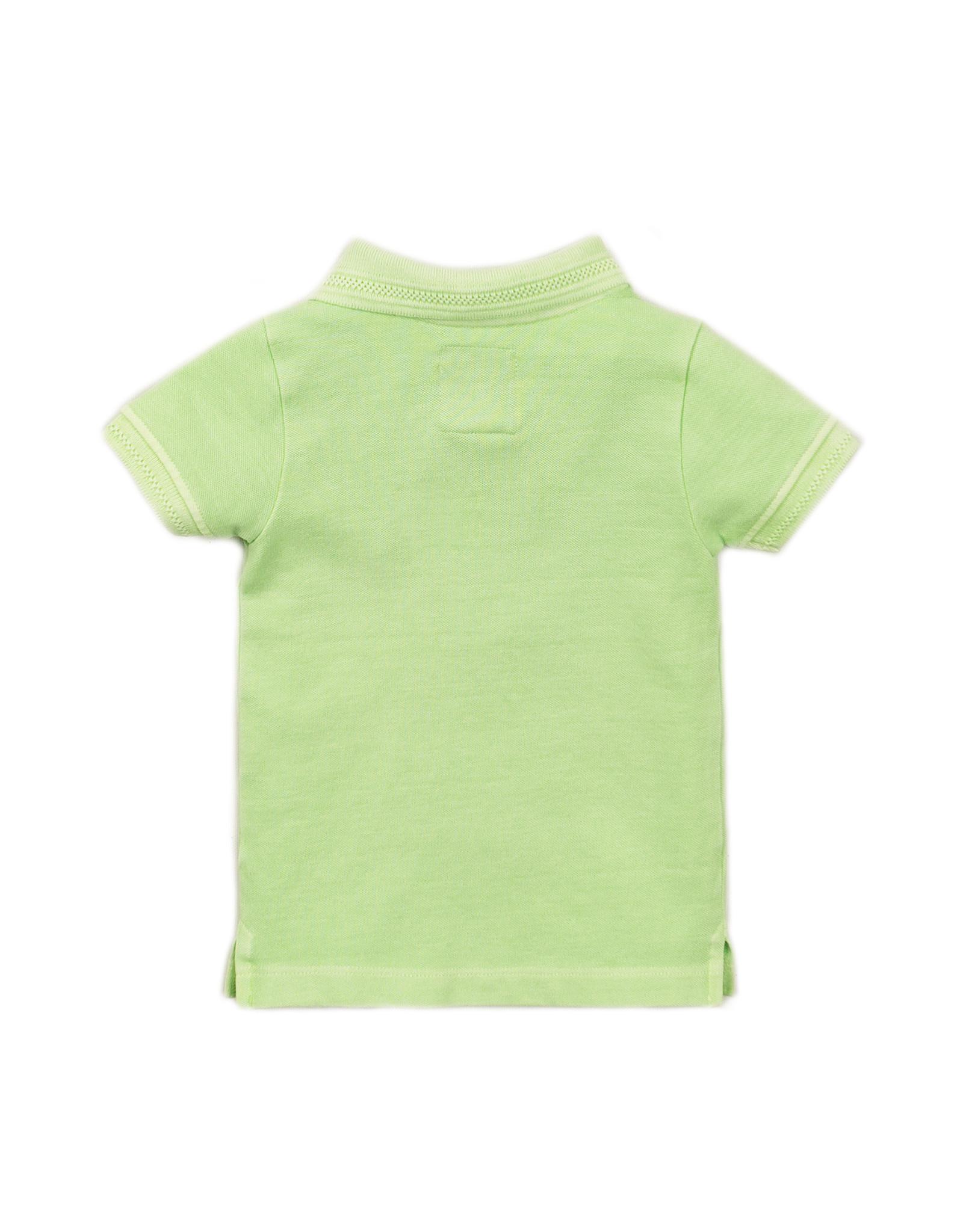 Koko Noko Polo ss, Faded neon green, SS21