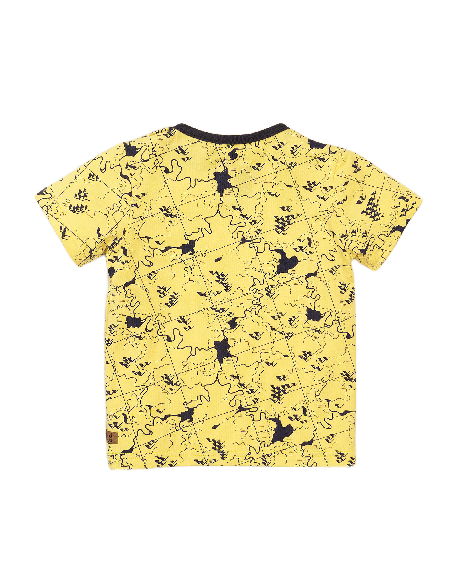 Koko Noko T-shirt shs, Light yellow, SS21