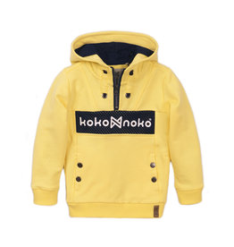 Koko Noko Sweater ls with hood, Light yellow, SS21
