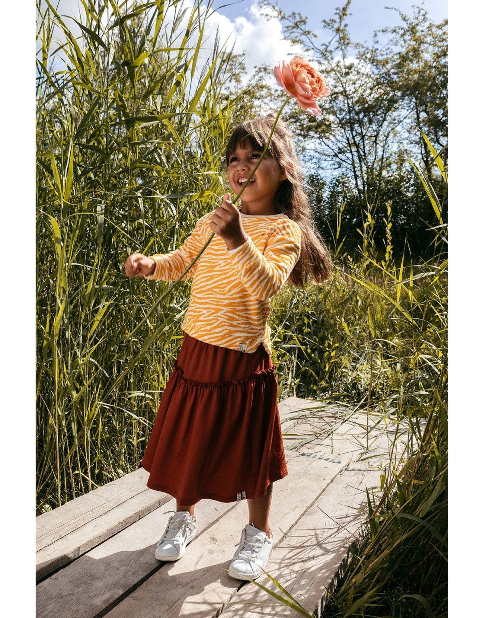 LOOXS Little Little skirt, PECAN