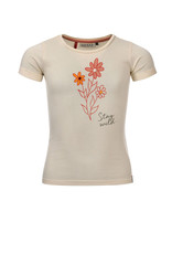 LOOXS Little Little t-shirt s. sleeve, MILK