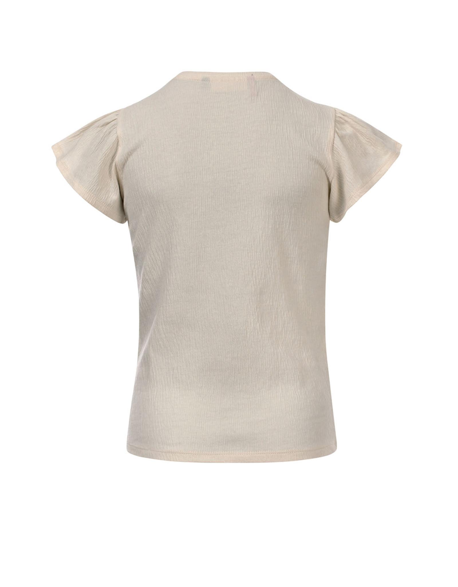 LOOXS Little Litle t-shirt, MILK
