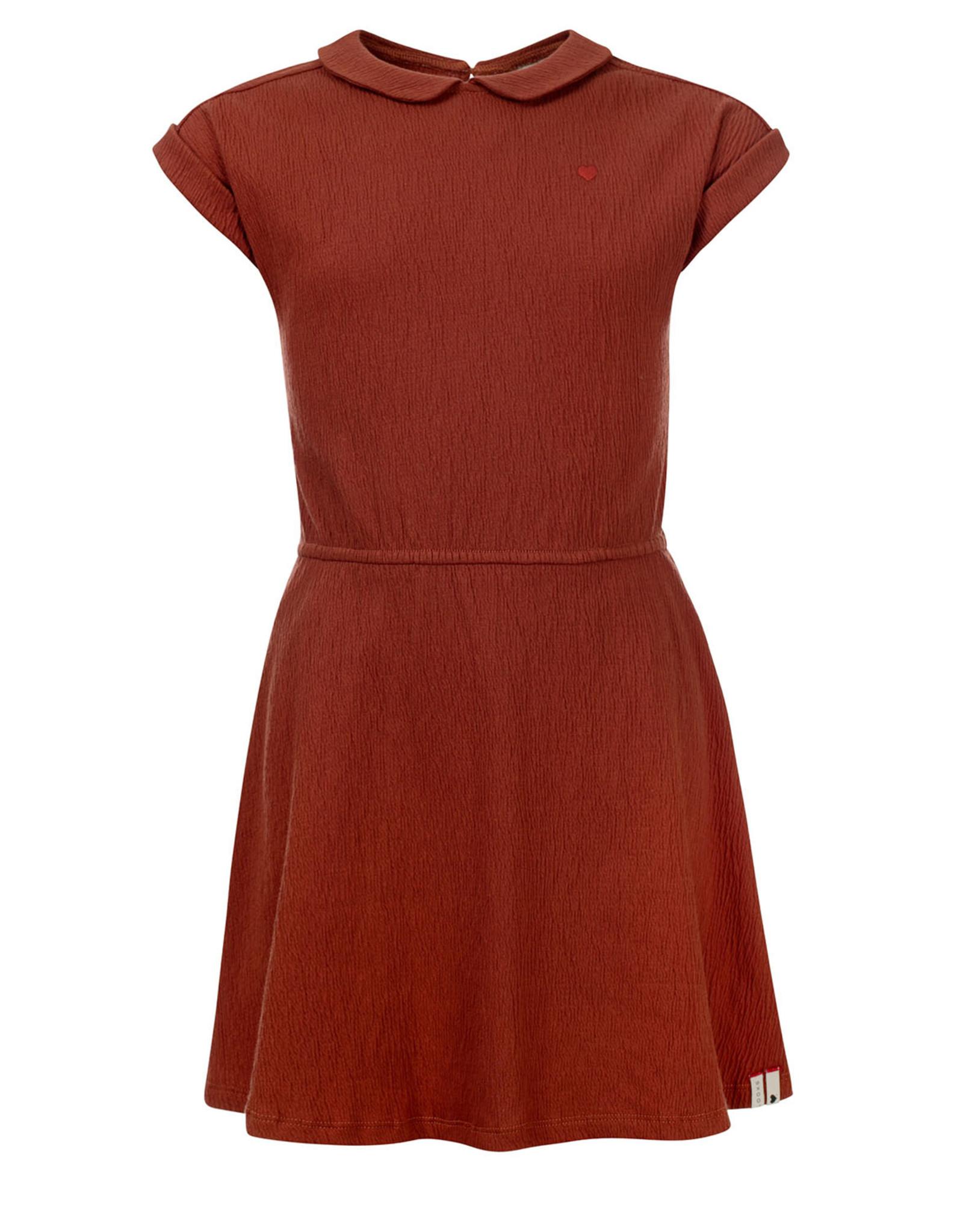LOOXS Little Little dress, PECAN