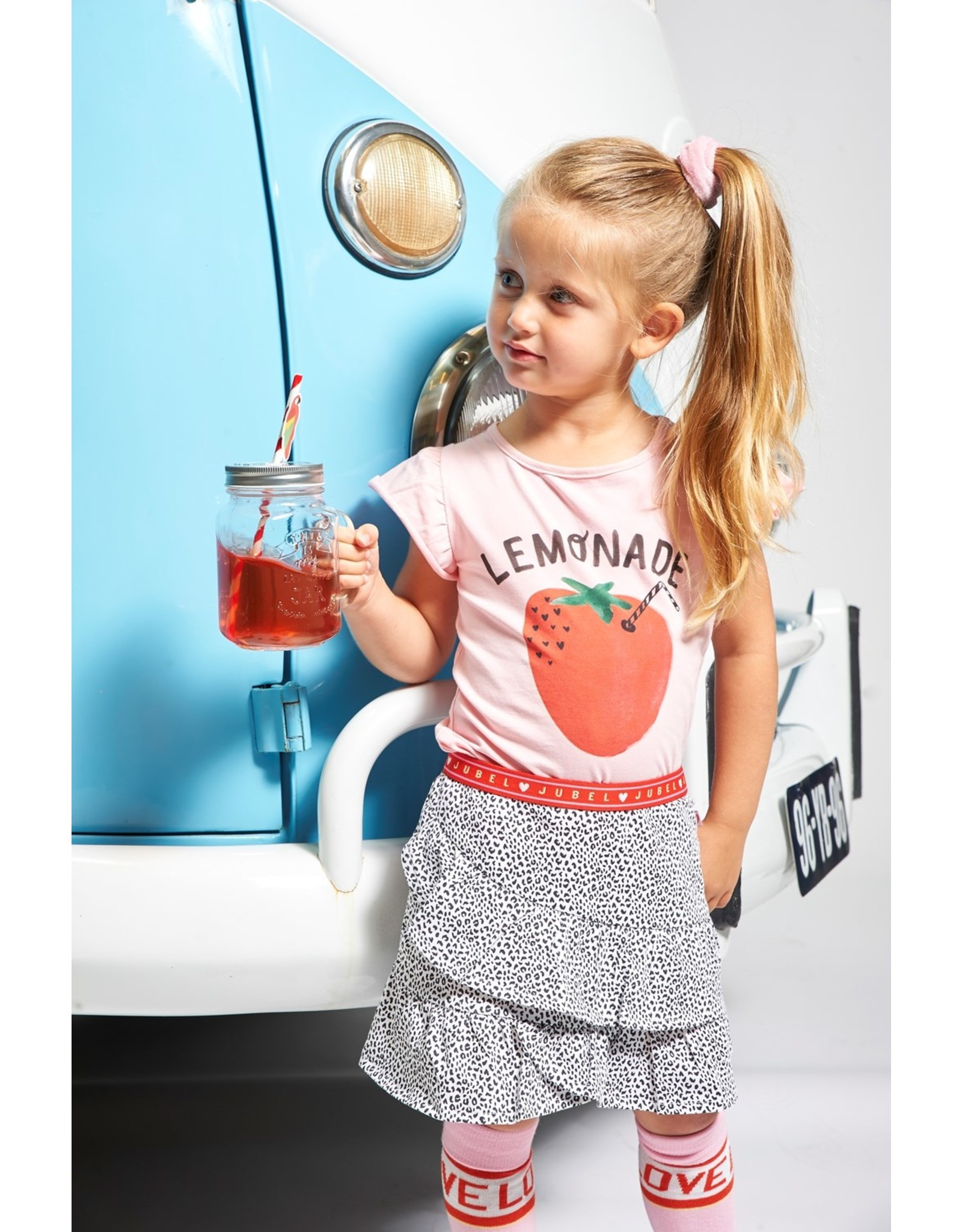 Jubel T-shirt Lemonade - Tutti Frutti. Roze