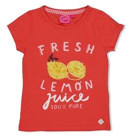 Jubel T-shirt Fresh - Tutti Frutti. Koraal