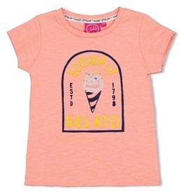 Jubel T-shirt Gelato - Sweet Gelato. Koraal