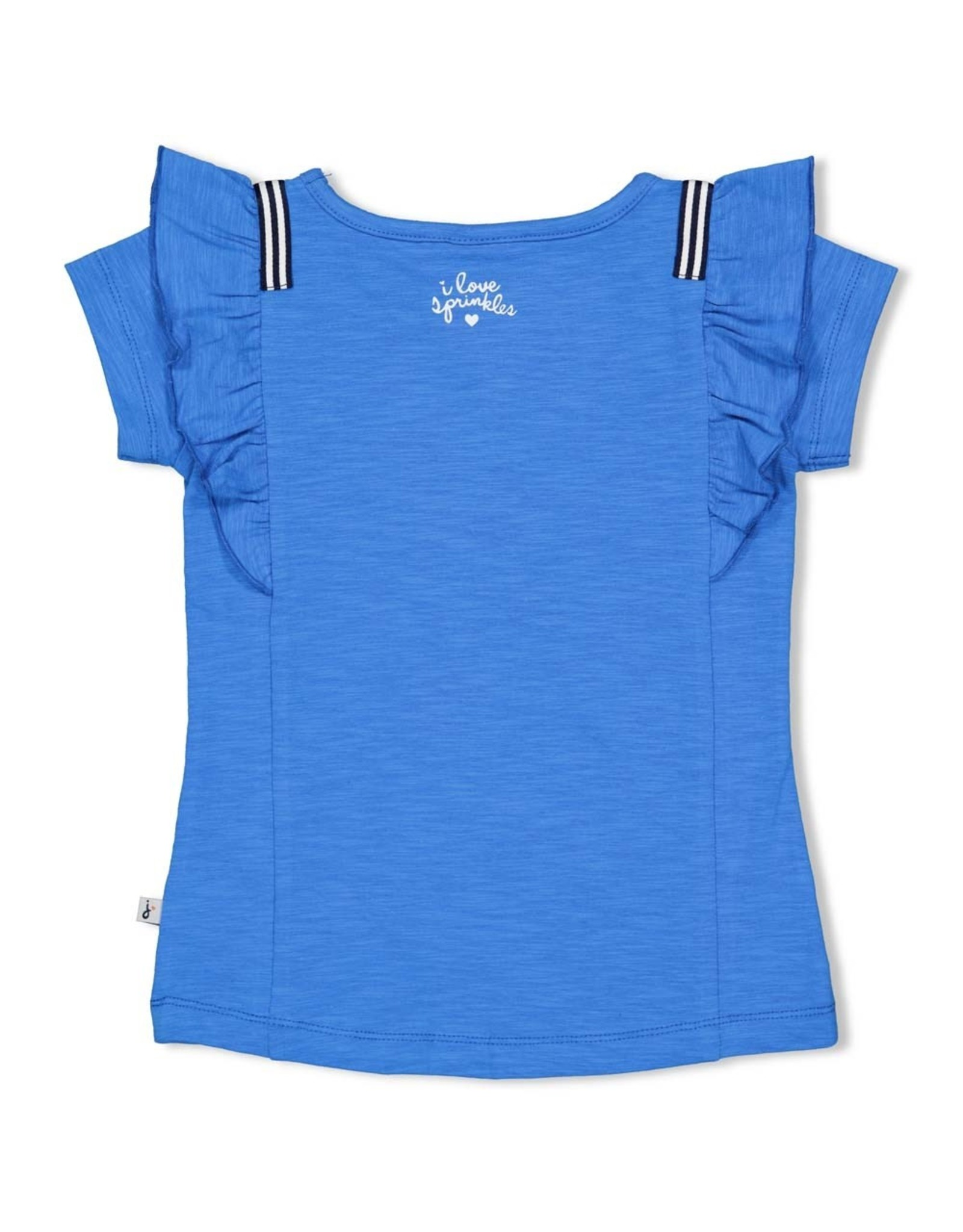 Jubel T-shirt - Sweet Gelato. Blauw