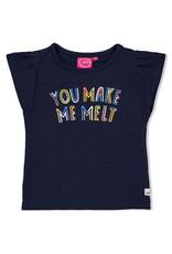 Jubel T-shirt Melt - Sweet Gelato. Marine