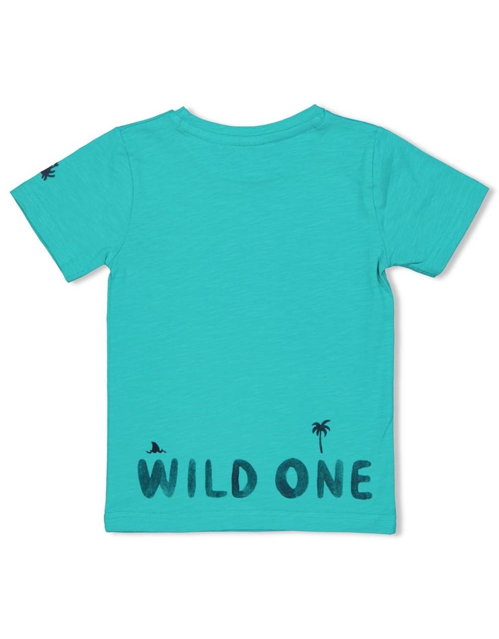 Sturdy T-shirt Wild One - Smile & Wave. Mint