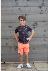 Sturdy T-shirt AOP - Happy Camper. Antraciet