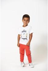 Sturdy T-shirt Lucky - Playground. Wit