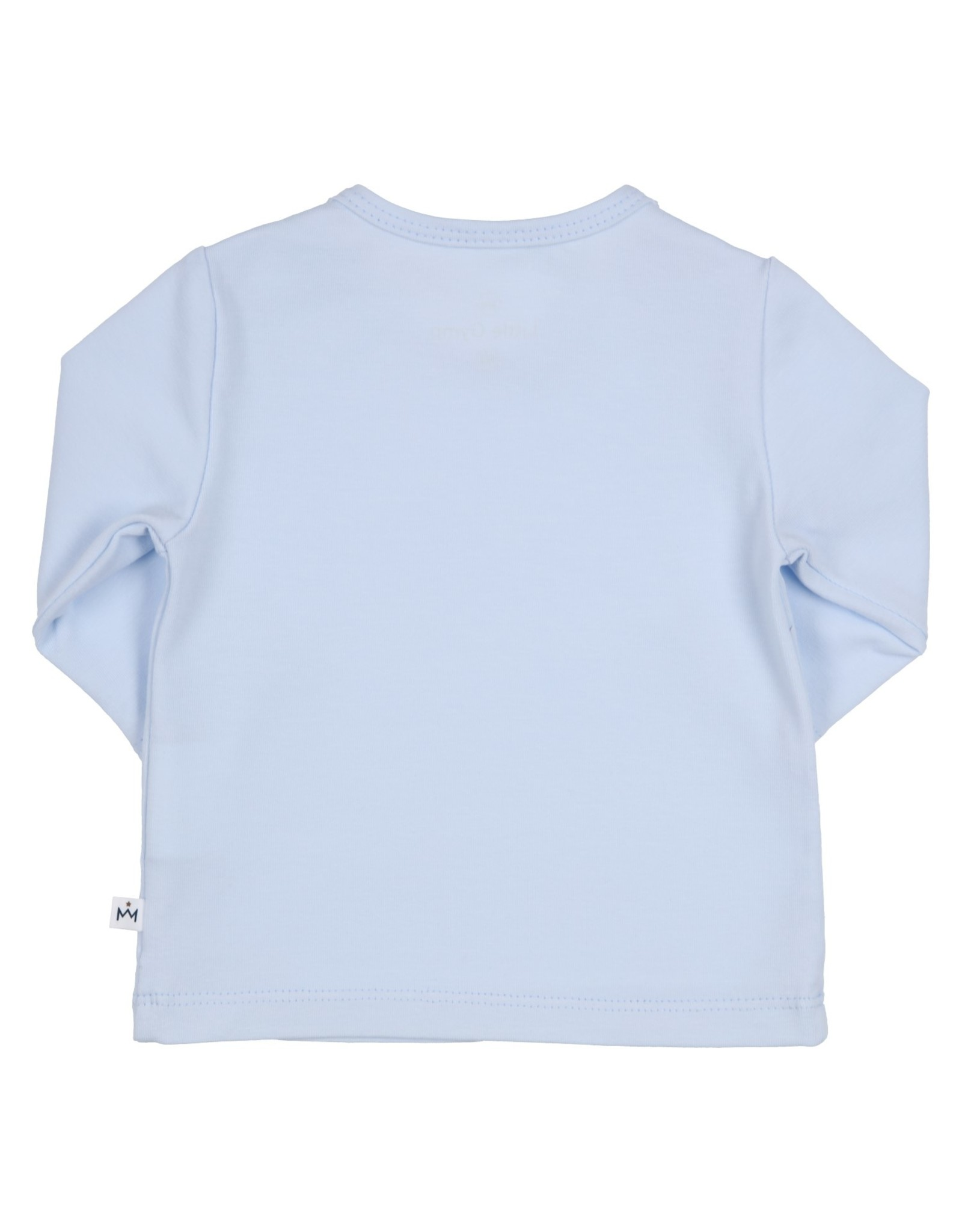 Gymp LONGSLEEVE  MINI SPROUT  AER, LICHTBLAUW