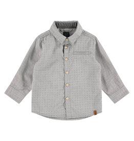 Babyface boys shirt, grey , BBE21107501
