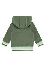 Babyface boys sweat cardigan, army, BBE21107407