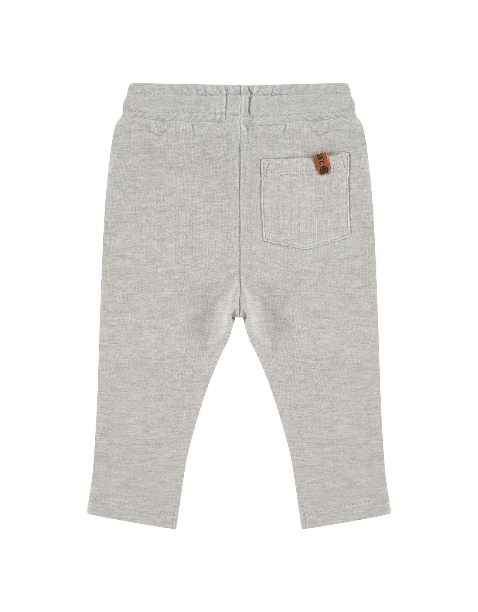 Babyface boys sweatpants, light grey melee, BBE21107209